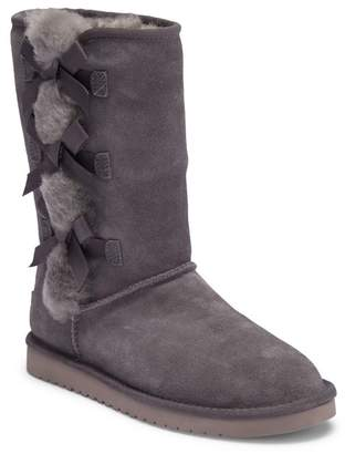 Koolaburra BY UGG Victoria Tall Genuine Dyed Shearling Trim & Faux Fur Boot (Women's)