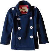 Hatley Nordic Apple Brushed Fleece Peacoat (Toddler/Little Kids/Big Kids)