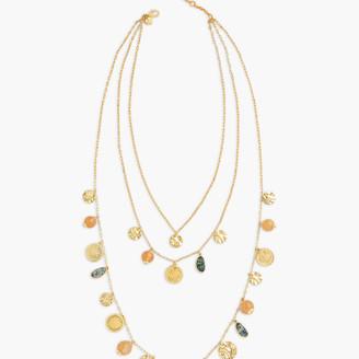 Talbots Paradise Three Strand Necklace