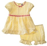 Harajuku Lovers Mini for Target® Infant Girls' 2 Piece Dress and Bloomer Set - Yellow