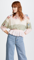 RED Valentino Mohair Sweater