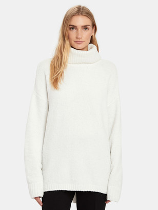 ATM Anthony Thomas Melillo Oversized Chenille High Neck Sweater