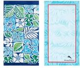 Tommy Bahama Tiki Block & Palm Beach Towel Set