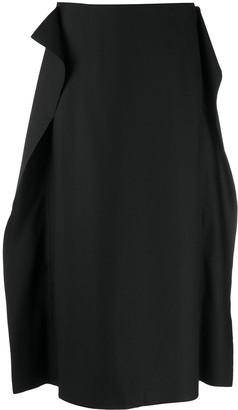 Sofie D'hoore Wool Pencil Skirt