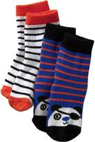 Old Navy Graphic Sock 2-Packs for Baby