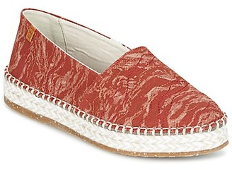 El Naturalista SEAWEED CANVAS women's Espadrilles / Casual Shoes in Red