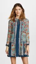 Anna Sui Flower Child Panel Chiffon Dress