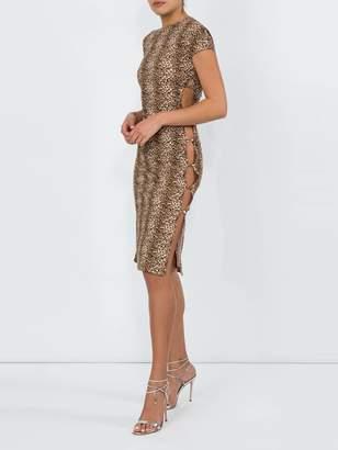 Marcia leopard tchikiboum dress multicolor