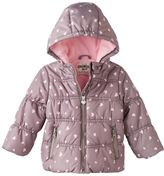 Osh Kosh Girls 4-8 Hooded Puffer Jacket