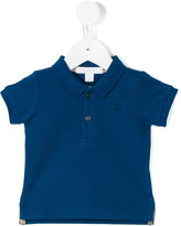 Burberry embroidered logo polo shirt - kids - Cotton - 6 mth