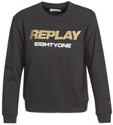 Replay women's Sweatshirt in Black