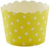 Container Store Small Baking Cups Dots Yellow Pkg/25