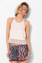 UO Pins And Needles Open-Side Tank Top