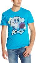 Kirby Men's with Stars Screen Printed T-Shirt