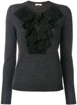 P.A.R.O.S.H. ruffled blouse