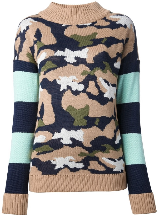 MSGM camouflage sweater