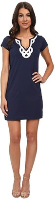 Lilly Pulitzer Brewster Dress (True Navy) Women's Dress