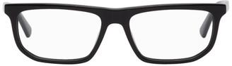 McQ Black Rectangular Glasses