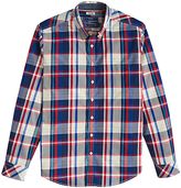 Joules Lyndhurst Multi Check Shirt, French Navy Check