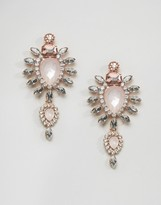 Johnny Loves Rosie Blush Large Stone Drop Earrings