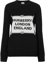 Burberry Rigging intarsia jumper