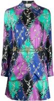 Gucci GG Rhombus Ramage shirt dress