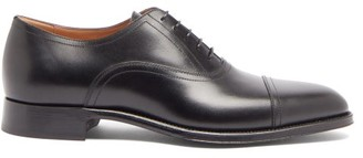 Dunhill Duke Leather Oxford Shoes - Black