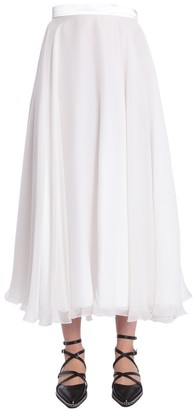 Lanvin Flared Maxi Skirt