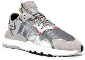 adidas Nite Jogger in Silver Metallic & Light Grey & Black | FWRD