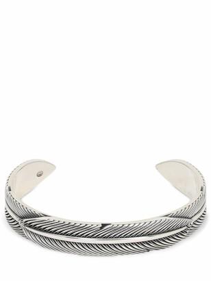 Cantini Mc Firenze Feather Slave Cuff Bracelet