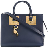 Sophie Hulme padlock tote - women - Leather - One Size