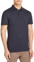Michael Kors Heathered Slim Fit Polo Shirt