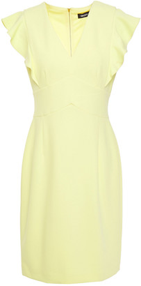 DKNY Ruffled Stretch-crepe Dress