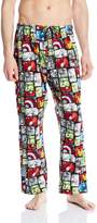 Marvel Men's Avengers Color Grid Lounge Pant