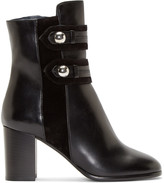 Isabel Marant Black Buttoned Alvy Ankle Boots