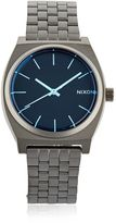 Nixon Time Teller Watch With Blue Dial