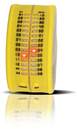 Time It Time-It Unisex Zero Yellow Digital Watch Zero A8