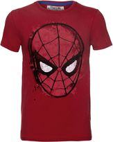 Fabric Flavours Spider-man Face Vintage Wash T-shirt