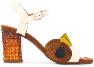Chie Mihara Kaela block-heel sandals