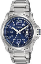 JCPenney DRIVE FROM CITIZEN ECO-DRIVE Drive from Citizen Eco-Drive HTM Mens Sport Watch AW1350-83M