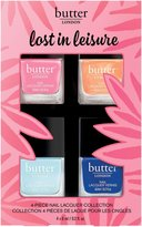 Butter London Lost In Leisure Nail Lacquer Collection - Rock Candy/Marmalade Skies/Fit/Skive