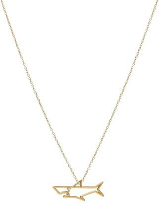 ALIITA TiburAn Brillante 9kt gold necklace with diamond