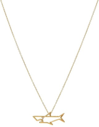 ALIITA Tiburon Brillante 9kt gold necklace with diamond