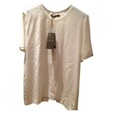Gucci White Silk Top