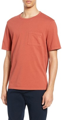 Vince Garment Dyed Pocket T-Shirt