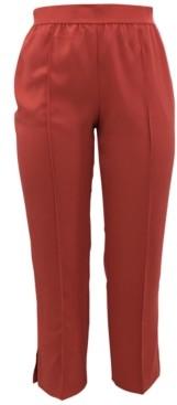 Alfani Plus Size Pull-On Straight-Leg Ankle Pants