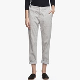 James Perse Cotton Linen Relaxed Pant