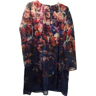 MSGM Blue Silk Dresses
