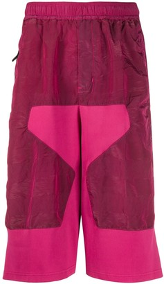Stone Island Shadow Project Velvet Cropped Trousers
