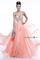 Alyce Paris - 6403 Prom Dress in Coral